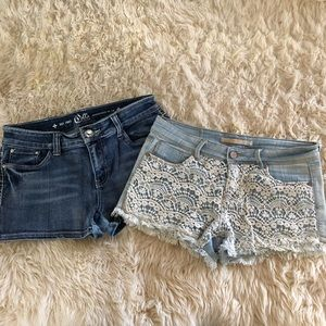 JEAN DISTRESSED SHORTS BUNDLE L/7